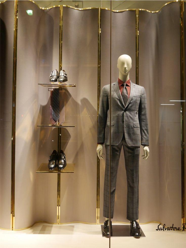 "SALVATORE FERRAGAMO (Florence Italy),Tokyo Japan, ""Italian Luxury Goods Company"", pinned by Ton van der Veer"