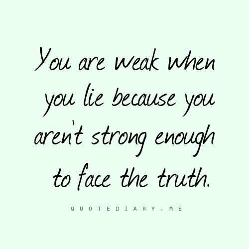 Get strong! Be real & for gods sake stop all your lies & trying to be in our lives!! Your days of being anything at all to us ( especially him) is over! Move on! Get a hobby, a real job, an education & your OWN man!!