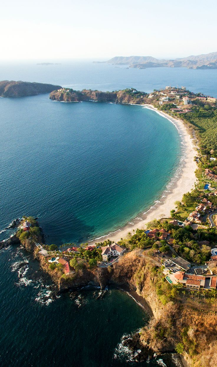 Costa Rica with it's beautiful white sand & turquoise waters >>