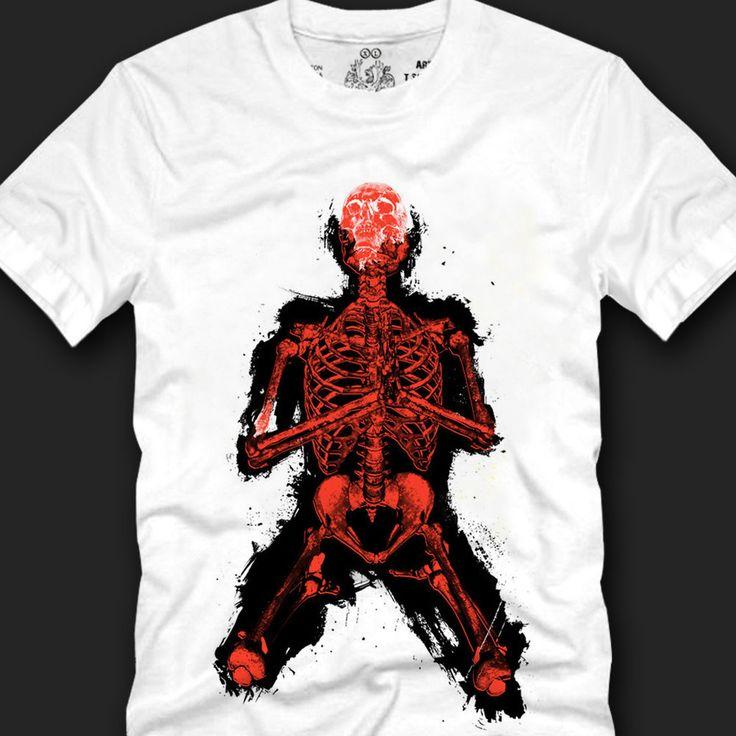 Men's T- shirts Sensual Design Leading Fashion Trends Cotton,pray red skull copy #Koreanleadingfashiontrends #GraphicTee