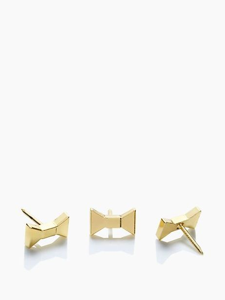 << office must-have ... kate spade bow push pins >>