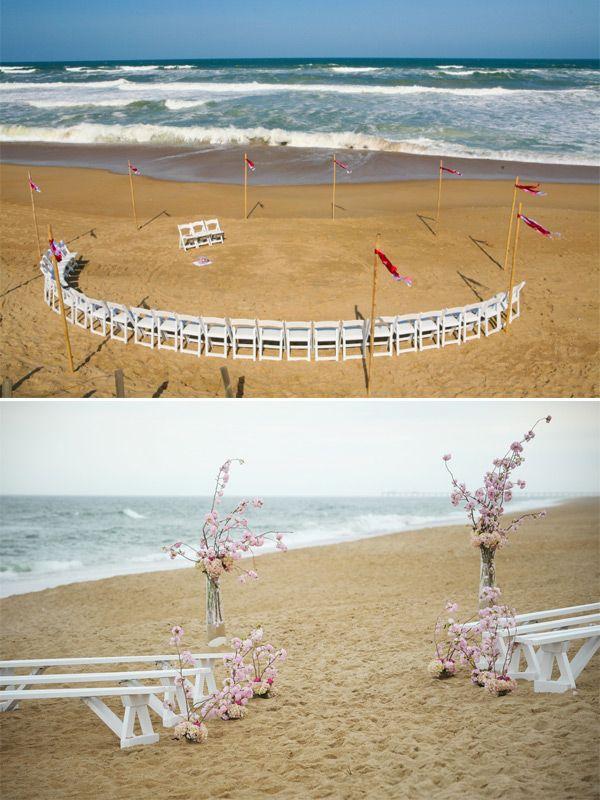 small beach wedding ceremony ideas%0A     best Beach Wedding Inspiration images on Pinterest   Wedding sayings   Wedding venues and Beach wedding photography