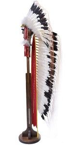 Single Trailer Quilled Band Headdress  this was given for the warrikors