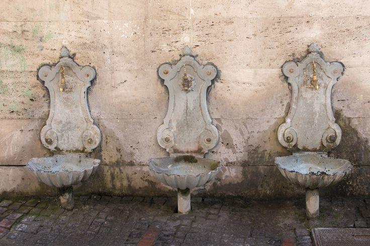Watervoorziening in Edirne (Turkije)