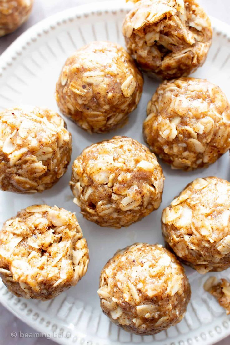 4 Ingredient No Bake Almond Butter Coconut Energy Bites V Gf