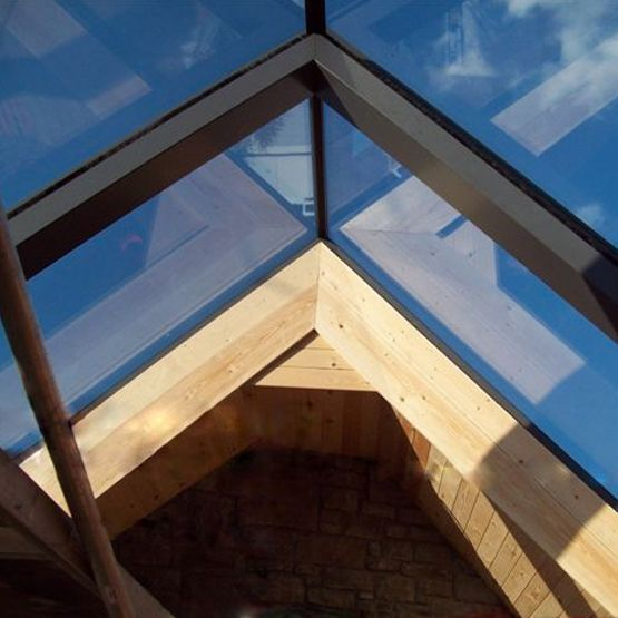 Do you know that skylights cut down on the earth's emissions and the need for electric lighting naturally?