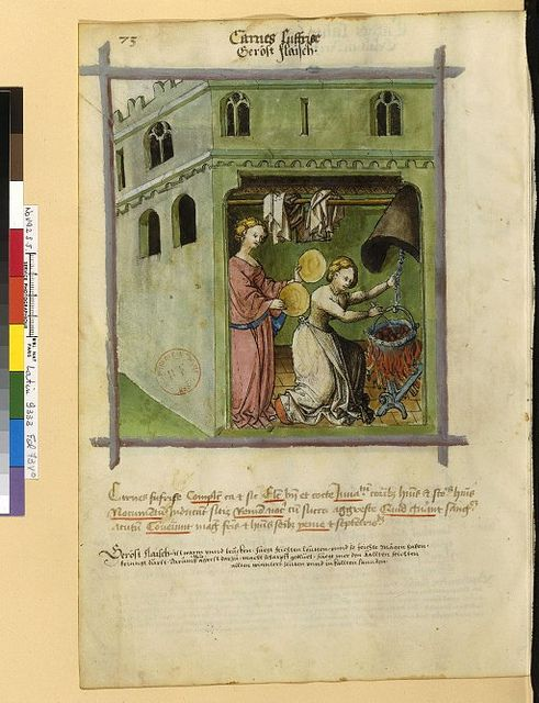Latin 9333, fol. 73v, Aliment(viande rôtie)_XVsec_Renania | Flickr - Photo Sharing!