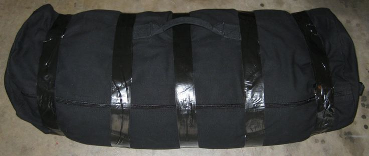 Paleo Strong: Home Gym DIY : Build a Workout Sandbag