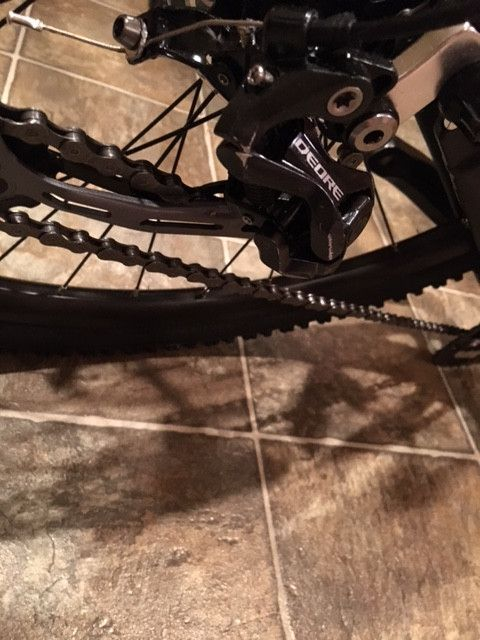 """Montague Paratrooper Military Folding Mountain Bike 2015, 18""""- Never Used Scratched"""