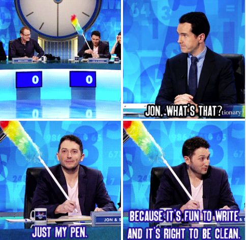 8 out of 10 cats does countdown - Jon Richardson