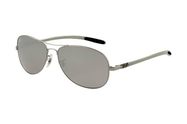 Ray Ban Tech RB8301 Sunglasses Gunmetal Frame Grey Mirror