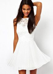 Don't miss out on this Sleeveless Lace Pleated Dress. #FreeShipping. Only at #MyLulusCloset. $68.00 #Dresses