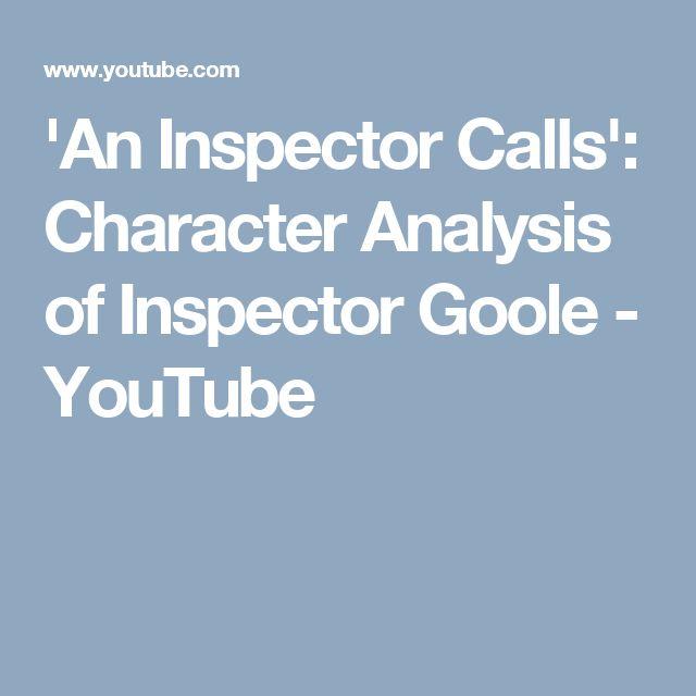 An inspector calls english coursework