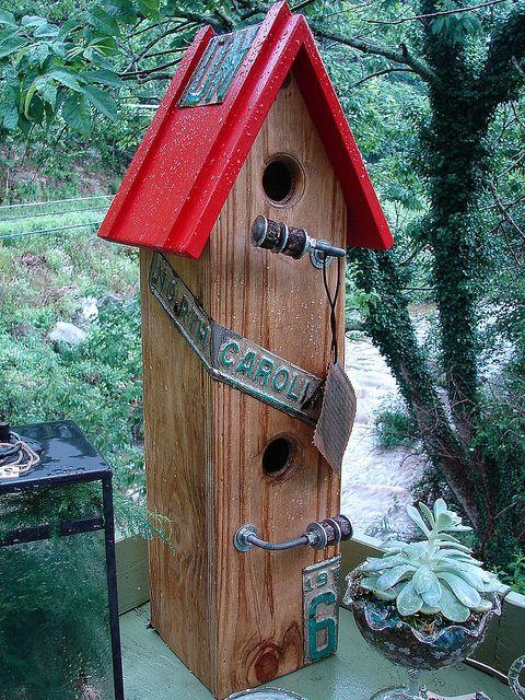 54 Best Bird Houses Images On Pinterest Birdhouses