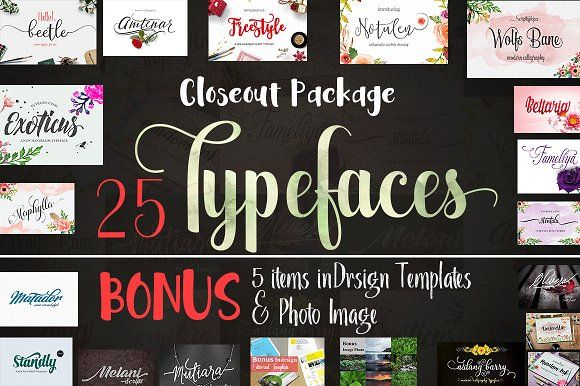 Closeout Package by Groens on @creativemarket