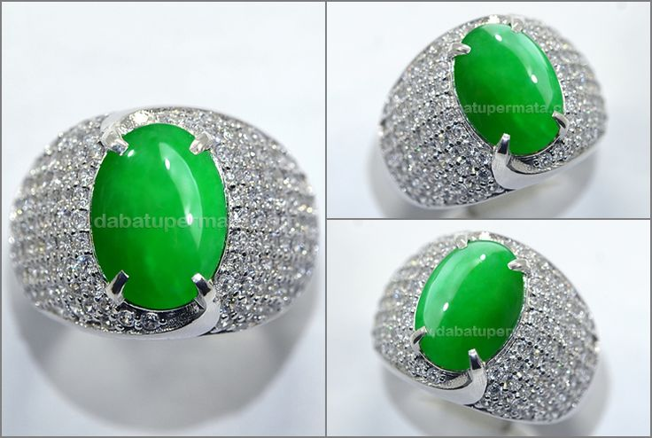 Luxury Green Apple Giok Fet Chui Burma Tipe A - JD 024
