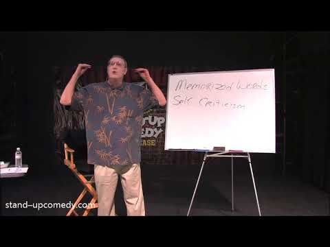 How to do Stand Up Comedy Tips: Stop Self Criticism - Greg Dean
