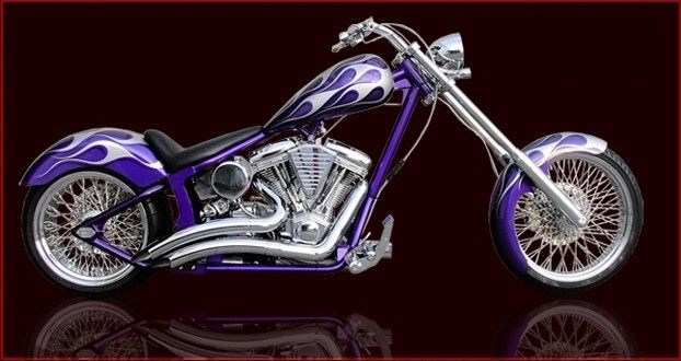 250 Wide Tire Chopper Kit, Motorcycle Kit