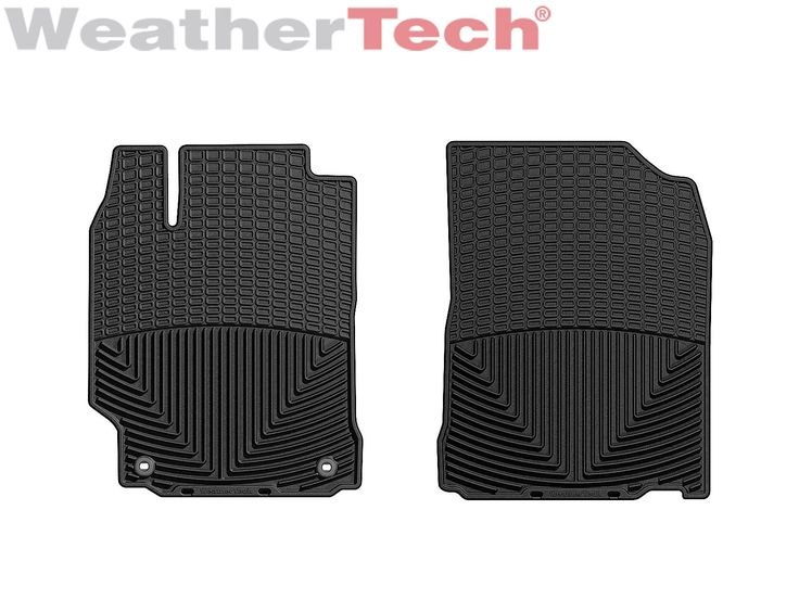 Nice Great WeatherTech All-Weather Floor Mats for Toyota Camry - 2012-2017 - 1st Row- Black 2018