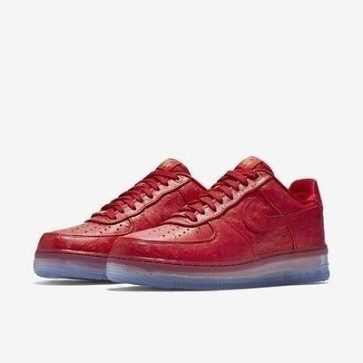 NEW MENS NIKE AIR FORCE 1 CMFT LUX LOW RED ICE SOLE SHOES 805300 600 SZ 9 #Clothing, Shoes & Accessories:Men's Shoes:Athletic ##nike #jordan #shoes $90.00
