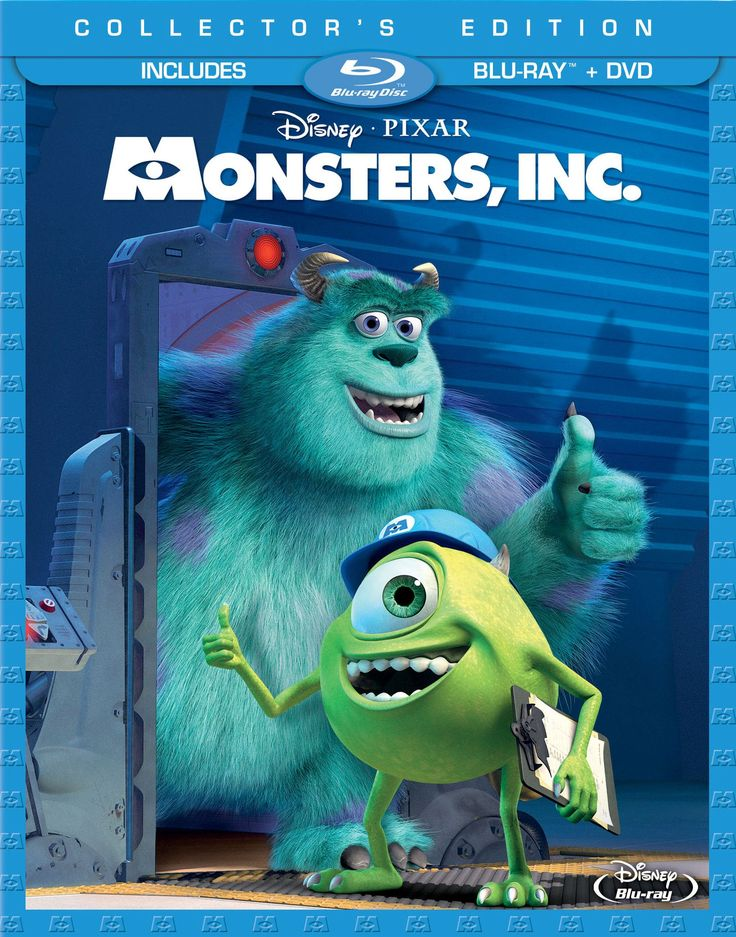 "Amazon.com: Monsters, Inc. (Three-Disc Collector's Edition: Blu-ray/DVD Combo in Blu-ray Packaging): John Goodman, Billy Crystal, James Coburn, Steve Buscemi, Mary Gibbs, Bob Peterson, Jennifer Tilly, Bonnie Hunt, Frank Oz, John Ratzenberger, Daniel R. Gerson, Jeff Pidgeon, Sam ""Penguin"" Black, Steve Susskind, David Silverman, Pete Docter, Andrew Stanton, Dan Gerson: Movies & TV"