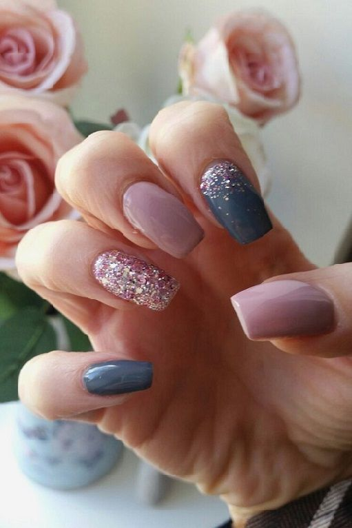 20 Cool Pointed Square Nails Trends 2018