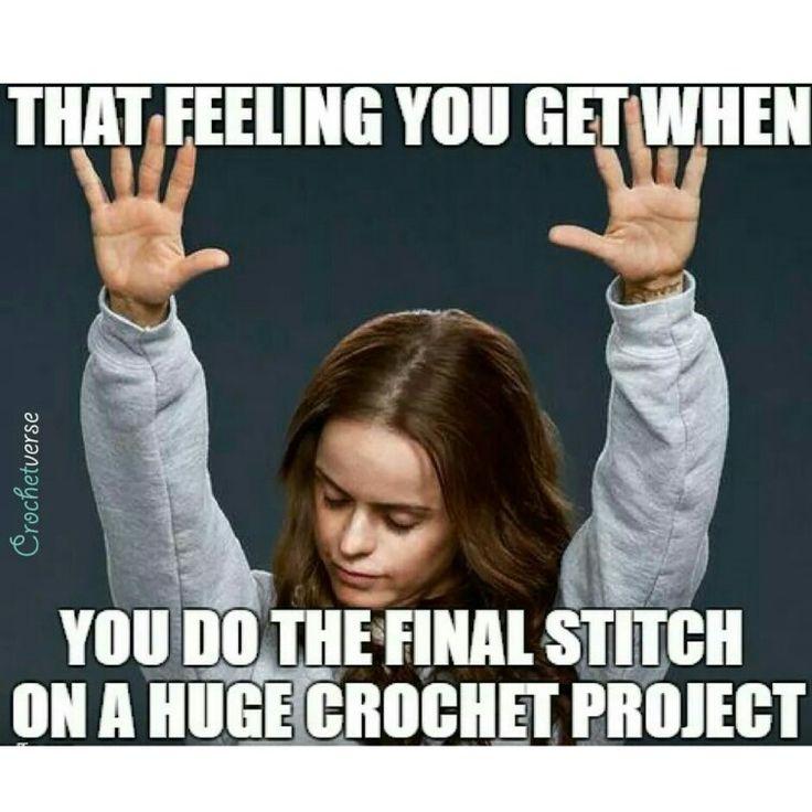 Crochet meme humor #crochetverse