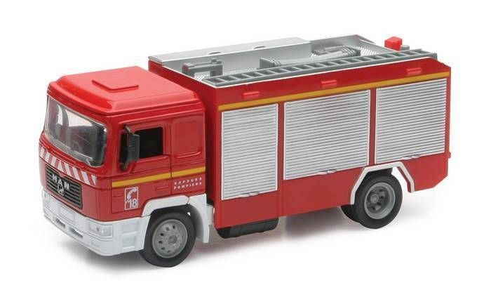 Camion Miniature 1/43 NEW RAY Sapeurs Pompiers MAN F2000 ma ref v5