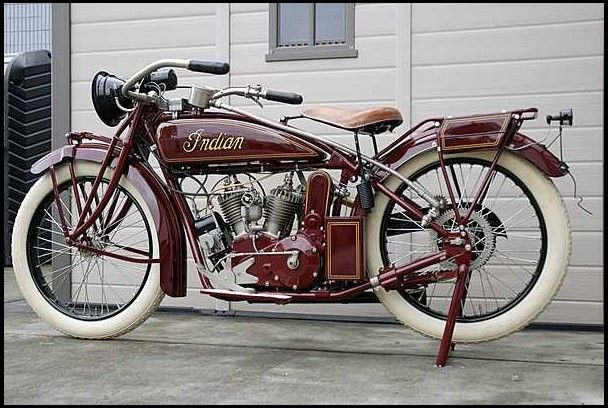 1921 Indian Scout Motorcycle 37 CI for sale by Mecum Auction