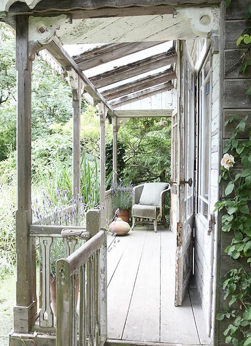 Bronson Pinchot porch