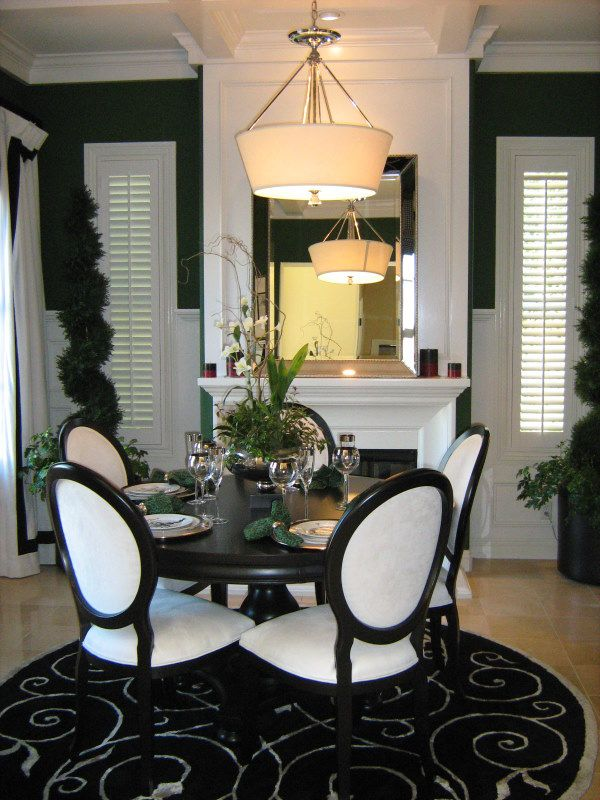 160 best images about black and white dining room on Pinterest