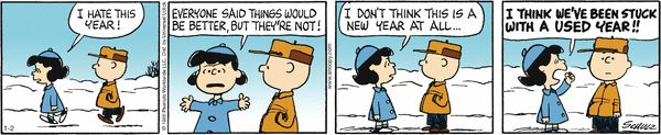 Lucy's take on the new year now that we're a few days in...