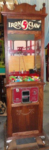 Coin Operated Arcade Digger and Crane Machines For Sale: GameRoomAntiques.com