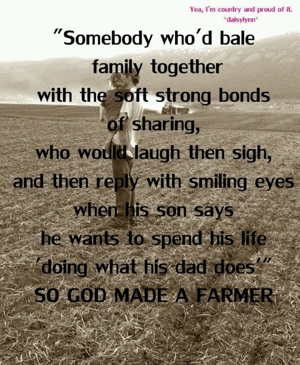 Farmers Day Quotes: The 25+ Best Farmer Quotes Ideas On Pinterest