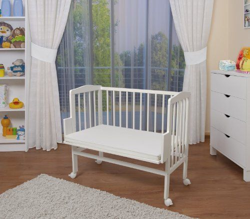 WALDIN Baby Bedside Cot Co-Sleeper height adjustable,untreated or white WALDIN http://www.amazon.co.uk/dp/B00F2I0NA2/ref=cm_sw_r_pi_dp_yTeavb1XDFN34