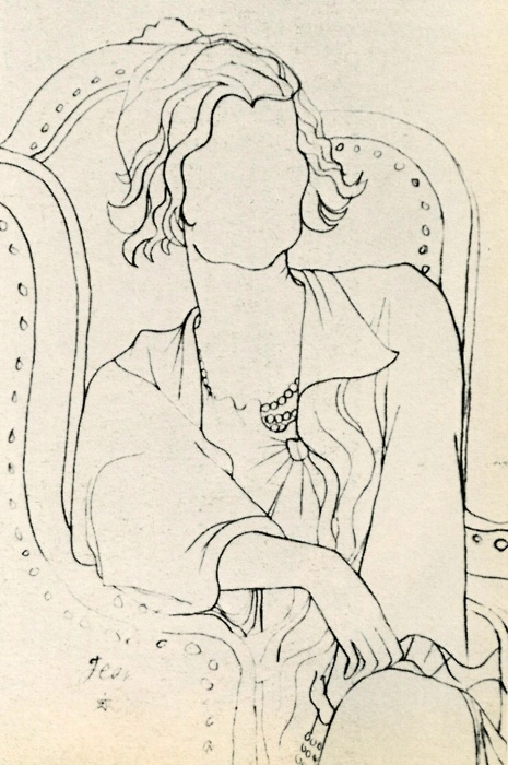 Coco Chanel by Jean Cocteau, 1932