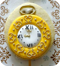 Pocket watch cookie~                       By dear sweet, yellow