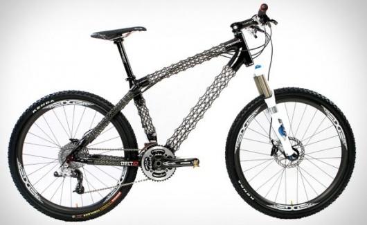 Arantix Mountain Bike frame is lighter than a MacBook Air