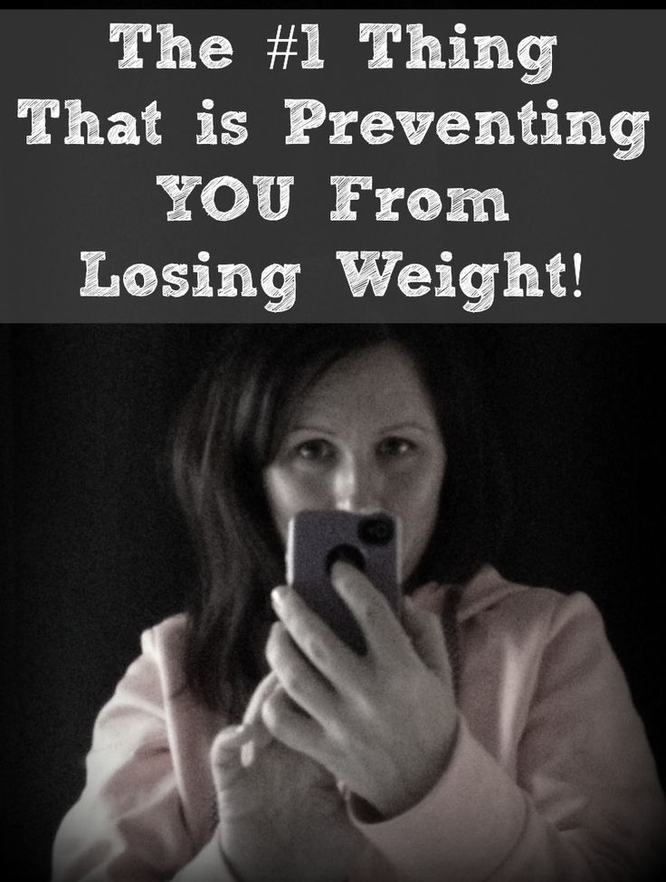 The #1 Thing That is Preventing You From Losing Weight. This post includes some of my best weight loss advice! Tons of weight loss resources