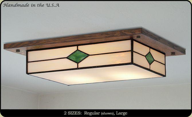 Traditional craftsman kitchen lighting