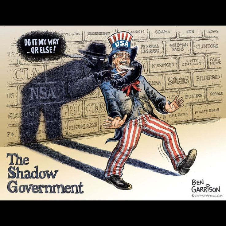 Image result for deep state cartoon