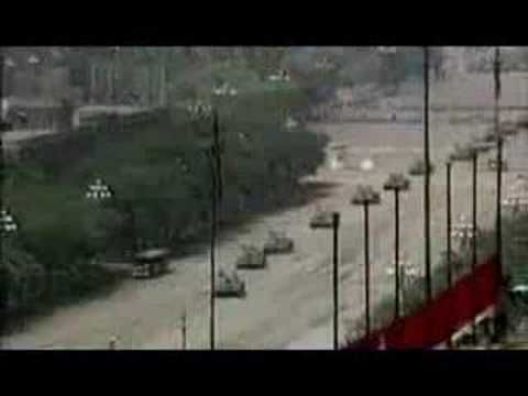 Tiananmen Massacre - Tank Man the 1989 Chinese Student demonstration for Democracy