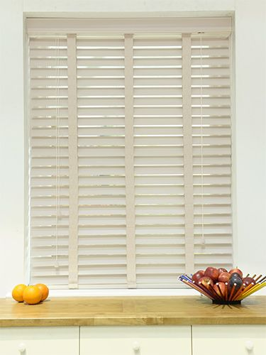 Moonstone Amp Stone Wooden Blind With Tapes 50mm Slat