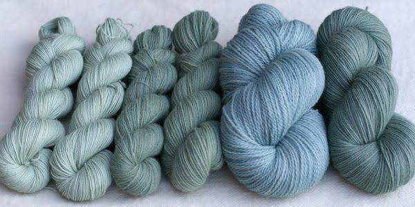 lavender blue: dyeing with privet berries