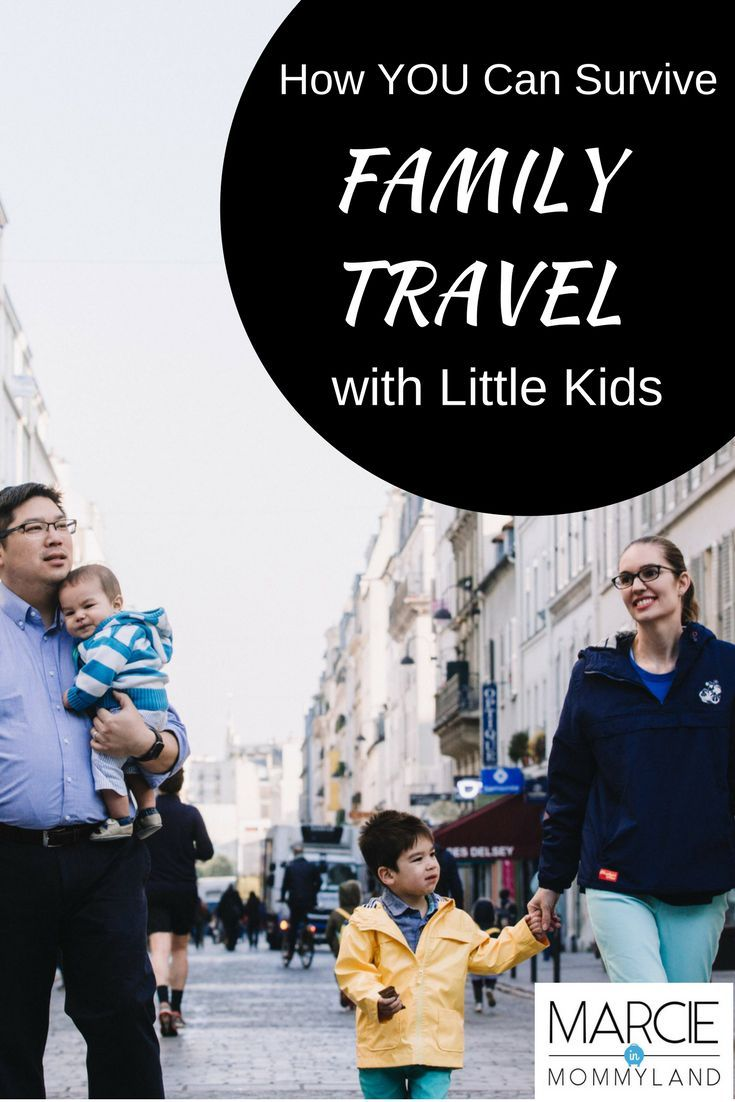 Are you stressed out just thinking about traveling with your kids? Find out how you can survive family travel and create a vacation that works for your whole family! Click to read more or pin to save for later. www.marcieinmommyland.com #familytravel #travelwithkids