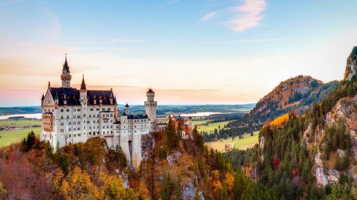 Zamek Neuschwanstein, Bawaria, Niemcy