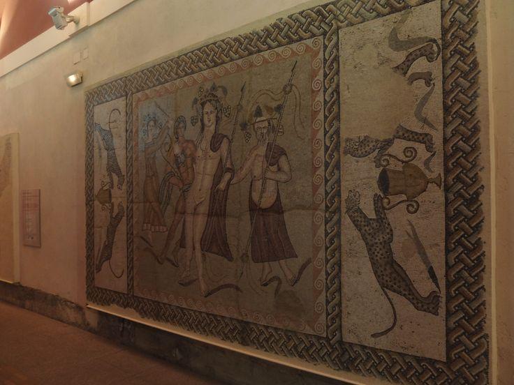 Museo Arqueológico Regional. En el se encuentran los mosaicos sacados de Complutum