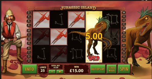 Jurassic Island slot  by Playtech will have you screaming with...