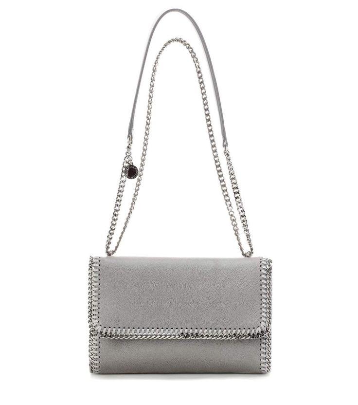 STELLA MCCARTNEY Falabella Shaggy Deer shoulder bag. #stellamccartney #bags #shoulder bags #leather #polyester #lining #