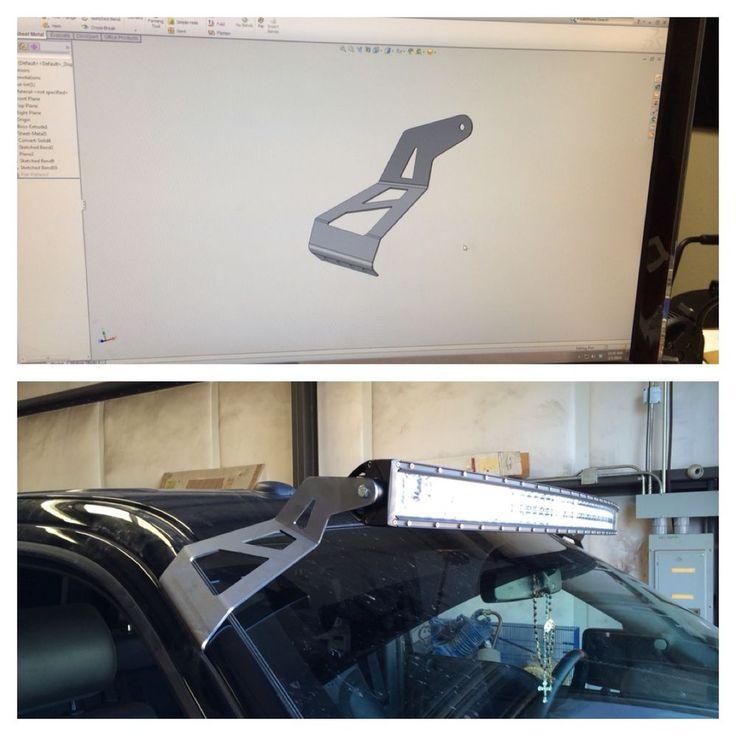 "50"" 52"" LED Light Bar bracket MOUNT 2004-2014 Ford F150/ Raptor trucks Door jam #lastcutters"